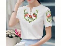 Заготовки для жіночої блузи бісером - заготовка блузи бісером e647a328becb5